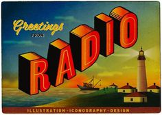 design work life » Radio Illustration Collective #illustration #vintage #typography