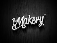 The Makery on Behance #type #logotype #branding