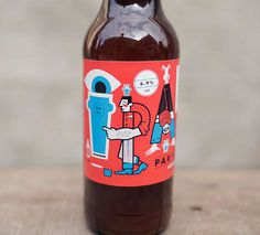 Partizan Brewing Labels #packaging #beer #label #bottle