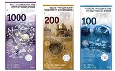 Packaging Design M #banknotes #swiss