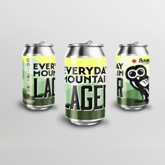 Sanitas Brewing Co. Everyday Mountain Lager