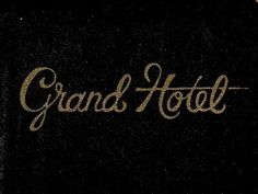 Grand Hotel Golden Type #type
