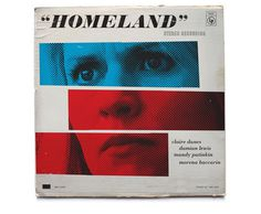 ty matson homeland #note #graphic #cover #lp #vinyl #homeland #vintage #music #blue