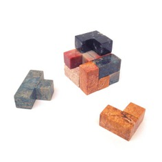 Semi-Precious Stone Games, Cubestone These Semi-Precious Stone Games are playful, decorative games with precious energy from the Andes. These unique, hand-carved exotic stones will allow your mind to focus and complete the challenge.