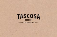 Tascosa Cartridge Logo by Nudge #logo #tascosa
