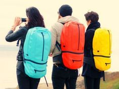 The SOOT Electropack is a transforming battery backpack that charges handheld devices