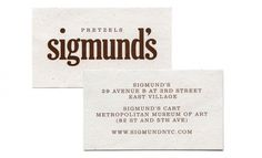 Triboro Design — SI Special | September Industry #business card