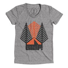 In-Tents Camp Tee HOWES DESIGN