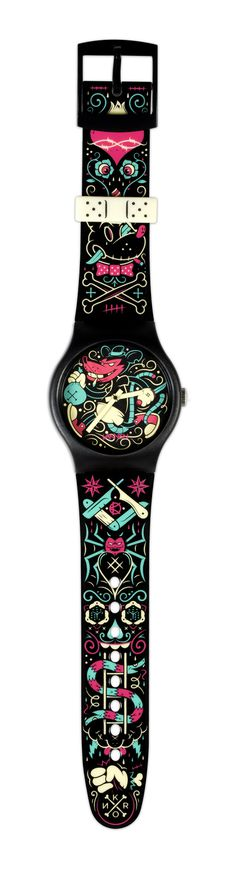 Rat Basterd Watch on Behance #kronk