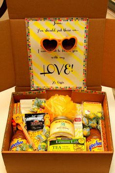 Creative College Care Package Ideas #care #deployment #gift #package