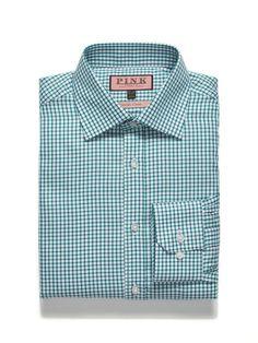 Thomas Pink Classic Fit Traveler Shirt #pink #shirt #men #fashion #dress