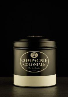 Boites à thé | Pierre-Alexis Delaplace #coloniale #boite #th #compagnie #vrac #luxe #metal