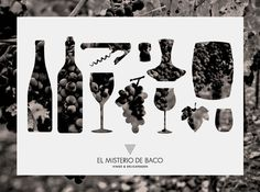 Branding - El Misterio de Baco on the Behance Network #wine
