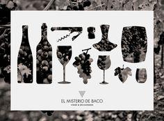 Branding - El Misterio de Baco on the Behance Network #wine