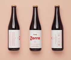 Zorra #packaging #typography