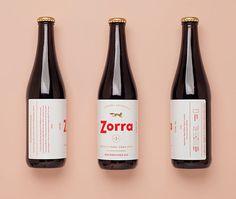 Zorra #packaging #typography