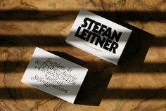 print, stationery, typography