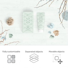Realistic packaging mock up Free Psd. See more inspiration related to Mockup, Template, Box, Packaging, Presentation, Mock up, Jar, Container, Mockups, Up, Present box, Editable, Realistic, Custom, Mock ups, Mock, Customize, Ups and Customizable on Freepik.