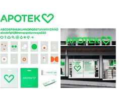 BVD #branding #apotek #identity #bvd #retail #signage