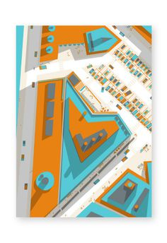 http://www.philippe nicolas.com/files/gimgs/36_ground 03 3 by philippe nicolas 01.jpg #vector #plan #modern #city #design #illustrator #map #landscape #illustration #architecture #street #urbanism