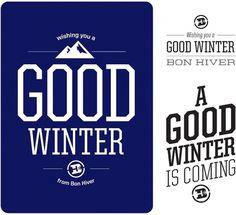 Bon Hiver Snowboarding | Neuarmy™ #logo #logotype #bon hiver