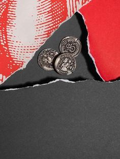 Sabotage Wine packaging coin design by Javier Garcia on Behance