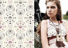 Gretchen Jones S/S 2011 Textiles | Namesake #surface #design #pattern #textile