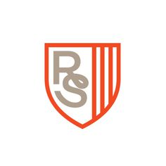 Rival Swag #monogram #logo #shield #logotype
