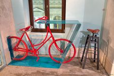 Thematic bar for urban cyclists - The Bicycle by Openspace - HomeWorldDesign (16) #design #interiors #thematic #restaurant