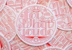 Typeverything.com - Love what you do letterpress... - Typeverything #logo #letter #design #graphic