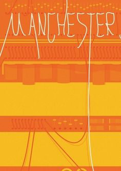 MANCHESTER MARK ONE on the Behance Network #illustration #typography #exhibition #mark #manchester #cables #one