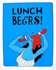 Parra - Lunch beers 1 #lunch #beers #parra