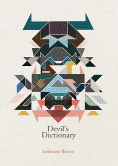 Devil's Dictionary on the Behance Network #dictionary #illustration #bookcover #devils
