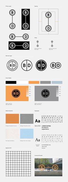 B|D Landscape Architects on Behance #print