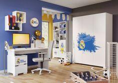 Twoje dziecko jest fanem królewskich? Urządź jego pokój utrzymując klimat klubu z Madrytu. https://www.meblik.pl/kolekcja/real-madrid/