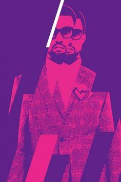 Kanye West Concert Poster — Fuse → Labour #color #labour