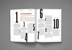 MagSpreads - Magazine Design and Editorial Inspiration: DADI MAGAZINE: Issue 2 #typography #layout #magazine
