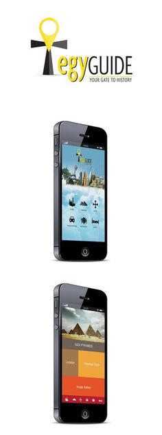 EgyGuide Mobile App by ~Rashidy on deviantART #app #mobile #egyguide