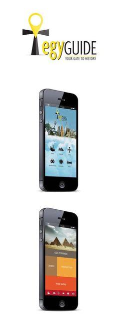 EgyGuide Mobile App by ~Rashidy on deviantART