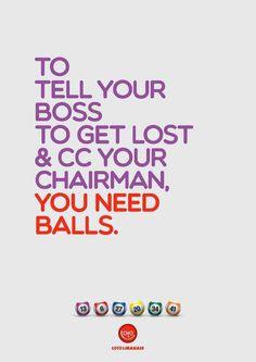 Loto Libanais: Balls #inspiration #advertisement #typography
