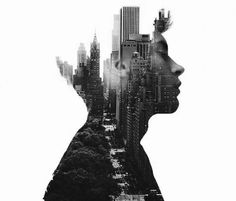 Blissful Double Exposure Portraits that Will Make You Awe