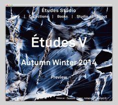 Études Studio #website #layout #design #web