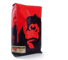 Mmmmm Packaging Part 1 – Coffee | The Design O'Blog #red #packaging #design #monkey #black #gorilla #coffee