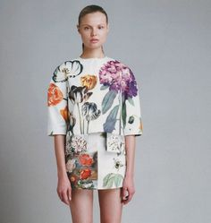 Every reform movement has a lunatic fringe #fashion #floral