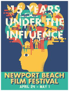 Newport beach Film Festival #illustration