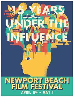 Newport beach Film Festival #illustration