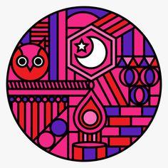 Onesidezero Illustration : Geometric