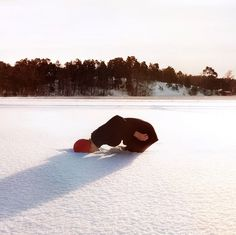 Maia Flore | iGNANT #flore #girl #snow #maia #winter