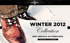 Giorgio 1958 #website #layout #design