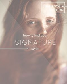 How To Find Your Signature Style #inspiration